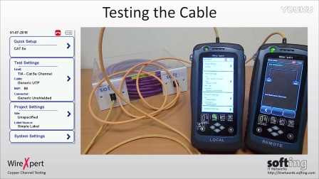 WireXpert 4500 CAT6A 铜缆通道测试 CAT6A Copper Channel Testing