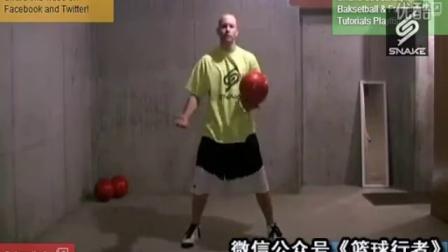 【街球教学】iversonwrap与背后elbowdribble的连接,篮球freestyle教学篮球教学过人