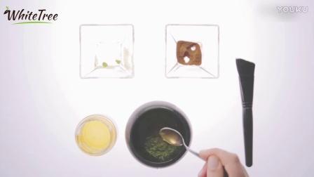 DIY抹茶蜂蜜面膜