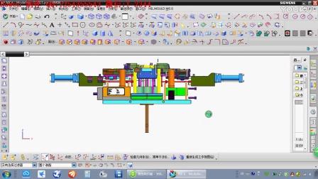 塑胶模具设计第47讲之齿轮旋转行位脱模机构—Bowen 制作