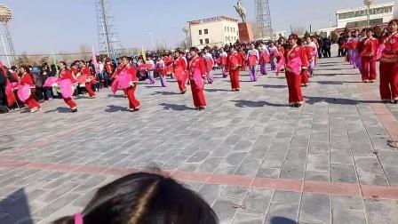 金昌市金川区双湾镇许家沟村2017年秧歌