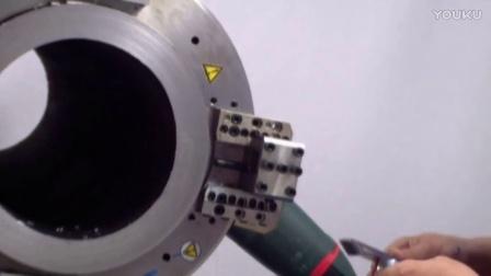 【厚壁】外钳式坡口机切割&坡口过程