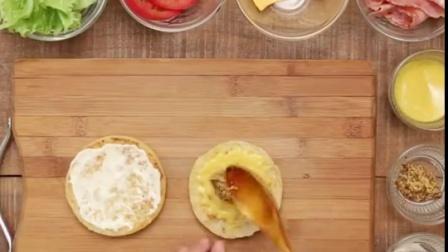 BLT英式松饼