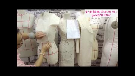 上海东华服装设计裁剪工艺学校a服装制版从入门到精通a零基础自学服装纸样打版制版视频教程