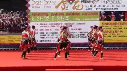 [一起舞吧APP-民族舞] 2011-05-21 壮族舞蹈-歌飘山水间(广西少数民族艺术节)