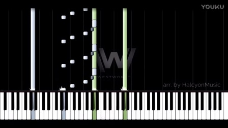 【西部世界】WestWorld钢琴主题曲
