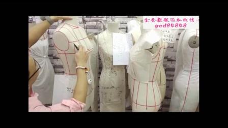 无锡服装设计裁剪工艺师培训视频教程e立裁教程e服装纸样打版制版基础知识针织视频教程