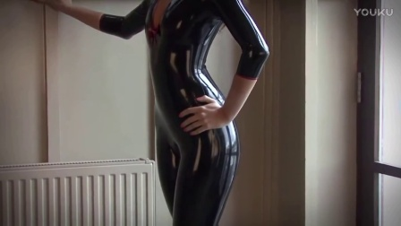 Lara Black Latex Top