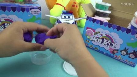 玩具人家 :小猪佩奇奇趣蛋玩具超级飞客彩泥橡皮泥