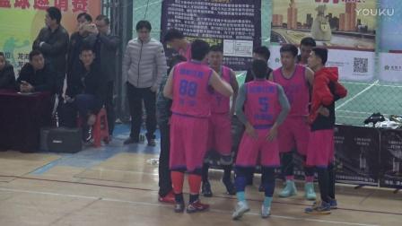 """2017年龙海市""""农商杯""""篮球邀请赛决赛  友鑫糖业vs柏翠红酒 2"""