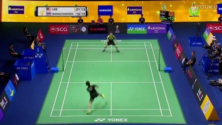 2017年泰国羽毛球大师赛半决赛集锦