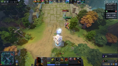 dota 2 - Bristle back and omni knight  powerful comb0
