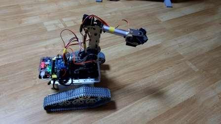 diego1#,键盘控制,树莓派,arduino的ROS机器人,6自由度机械臂