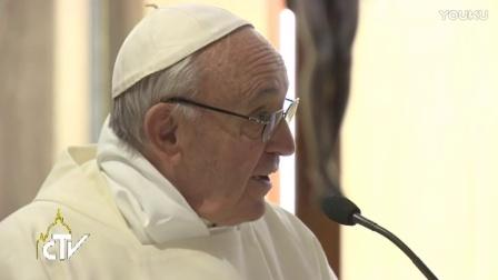 教宗清晨弥撒:在试探中我们需要祈祷,而不是对话