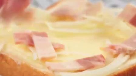 奶油起司培根蛋吐司~在家轻松就能完成早餐!