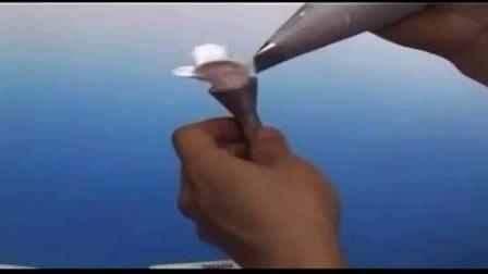 蛋糕奶油裱花视频教程 如何用奶油做玫瑰花饼干的做法