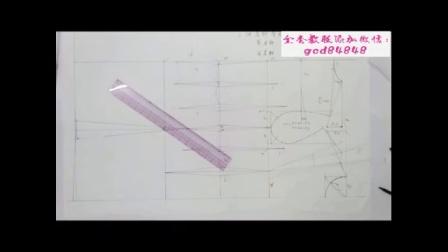 上海东华服装设计裁剪工艺学校 b服装裁剪视频教程大全 b服装纸样打版制版师培训视频教程