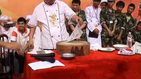 素食厨师培训学校一展刀工