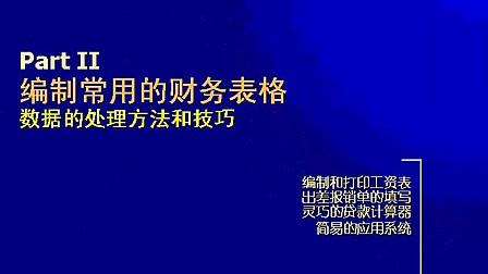 excel技巧 ppt_excel2007实用教程_财务常用excel函数