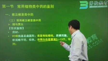 执业药师集训班-中药学专业知识(一)-第8章-第1讲-肖老师