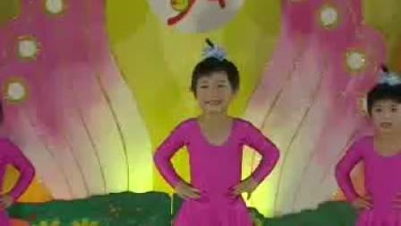 幼儿园课堂跳舞蹈实用教材 小班11 小手小脚动