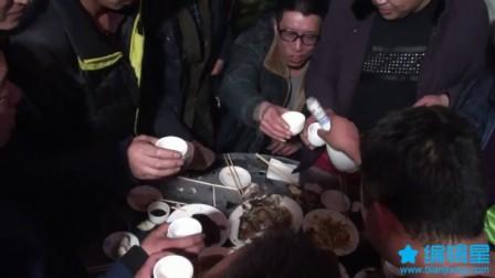 内蒙古卓资县八苏木乡朝鲁大队白石头圐圙村老乡聚会集锦