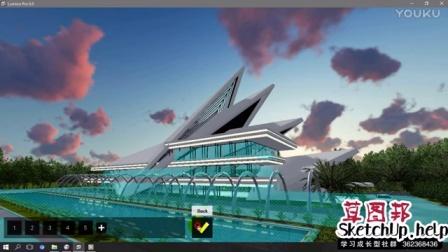 Lumion 6 Rendering Tutorials #18 - CITY AUDITORIUM (3D Warehouse)_(new)