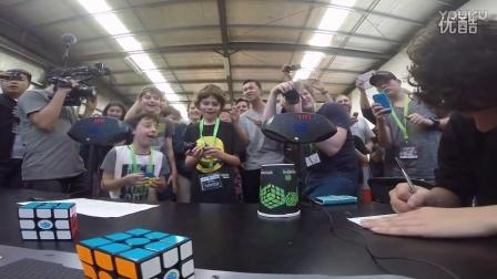 三阶魔方单次世界纪录 4.73 秒 - Feliks Zemdegs 菲利克斯 曾姆丹格斯  魔方高手魔方视频