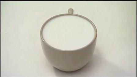 咖啡机拉花视频__糖浆拉花