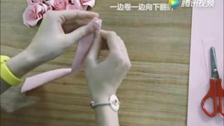 节教你怎么折玫瑰花