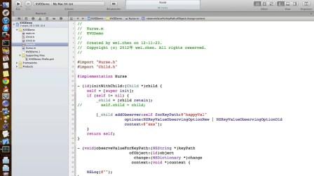 无限互联iOS开发视频教程:9.3 kvo的概念和使用-陈为