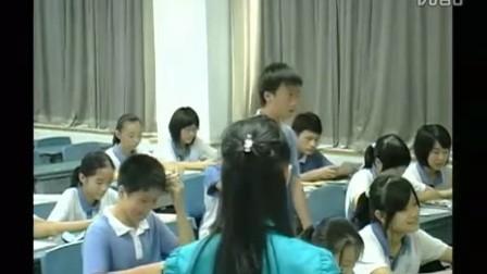 八年级英语优质课视频《Chapter 7 Family Lives》牛津深圳版廖老师