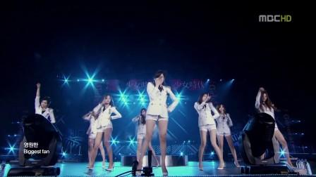 少女时代 Genie 120409 制服装高清现场版.720p
