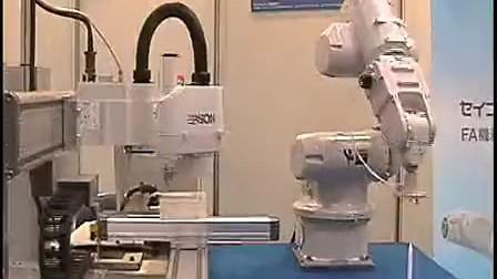 EPSON机械手 一台控制器控制4台机器人