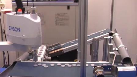 EPSON 四轴机械手G3高速搬运演示