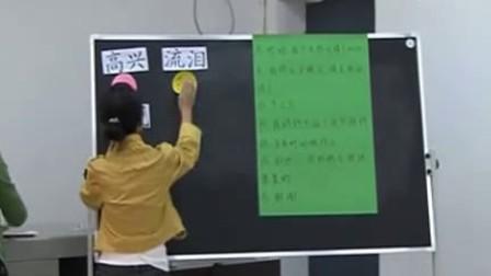 小学五年级语文优质示范课特殊教育《表情语言》冯元媛