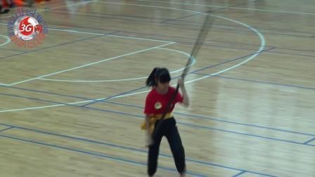 彭彦行参加2013首届中山市聚龙杯武术套路精英大赛—长棍