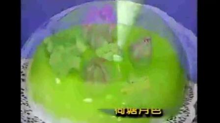 蛋糕裱花基础视频 生日蛋糕裱花寿桃面包制作