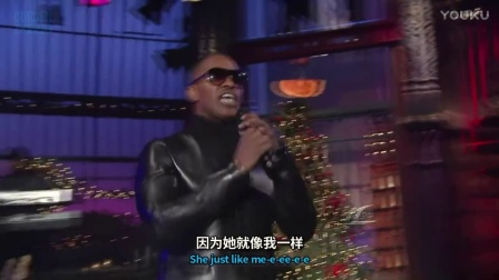 Jamie Foxx Ft. T.I. - Just Like Me LIVE 中英双语【OURDEN】