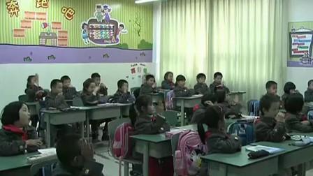 一年级数学北师大版杨婷左右课堂实录与教师说课