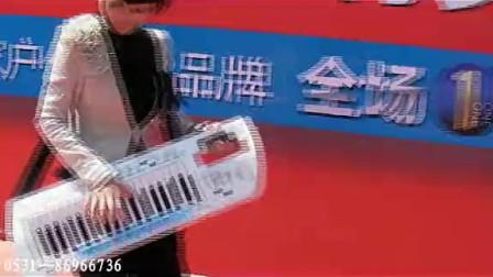 三排键电子琴双排键 12面电子鼓 DJ-5红枚瑰 天音之女数码乐队