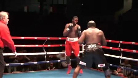街头之王Kimbo Slice参加拳击赛,第一回合不到KO对手!!!