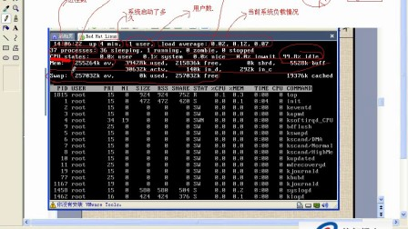 Linux视频教程16-top详解 设置系统时间 监控网络状态