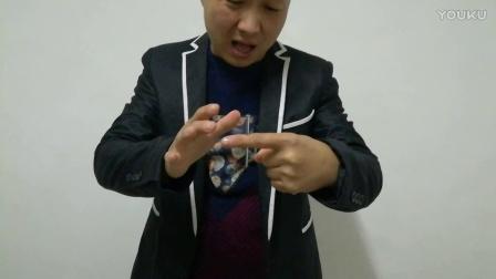 魔术教学:钉子穿手,手完好无损,太不可思议了!