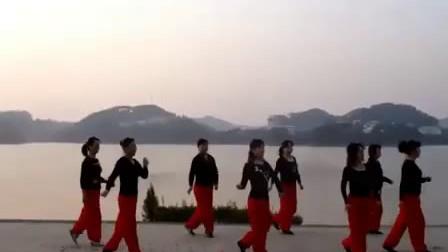 广场舞 恰恰(8步) 山地情歌.flv