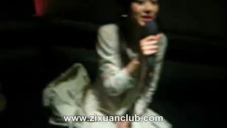 张子萱在KTV唱《我只喜欢你》上半部