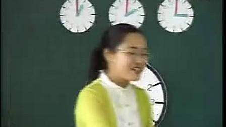 小学一年级数学优质课观摩视频《时间》朱益维 1