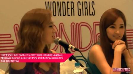 2303a5f33e381 Wonder Girls Wonder World Tour in Singapore Media Conference (2012-09-08)