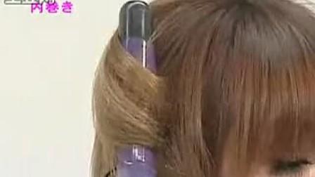 日本女孩时尚发型:如何内卷发