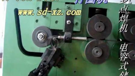 打圈机视频,不锈钢丝打圈机,铁丝打圈机,数控精密打圈机